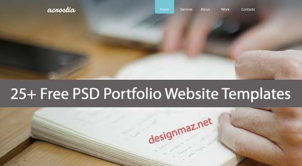 free-psd-portfolio-website-templates