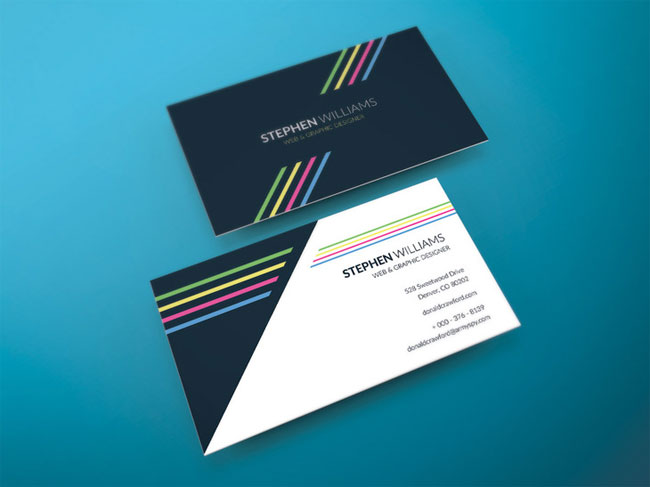 free-two-side-vector-business-card