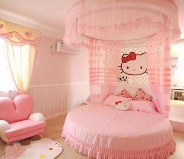 Dreamful Hello Kitty Room Designs For Girls Designmaz