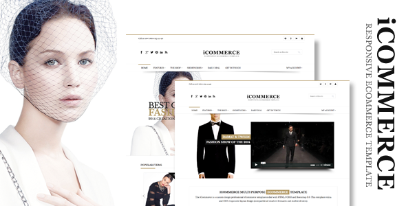 iCommerce - Retina Responsive Ecommerce Template