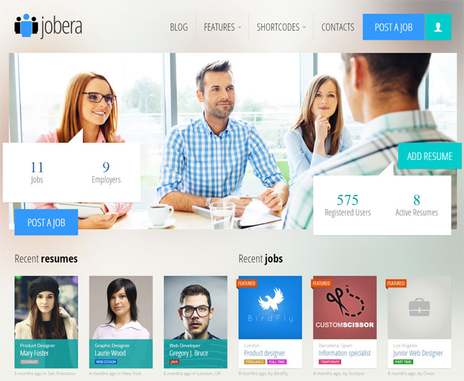 jobera-job-portal-wordpress-theme