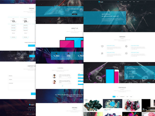 kasper-free-business-one-page-psd-template-thumb