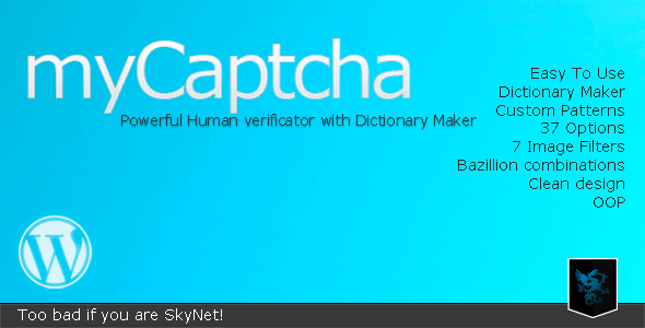 myCaptcha - Powerful Human Verificator