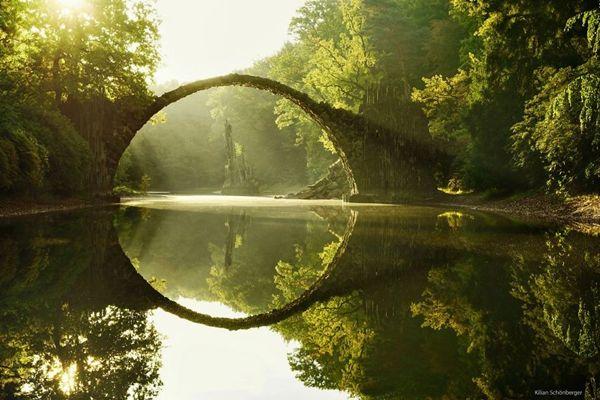 Fantasy Bridges Look Like in the Fairyland