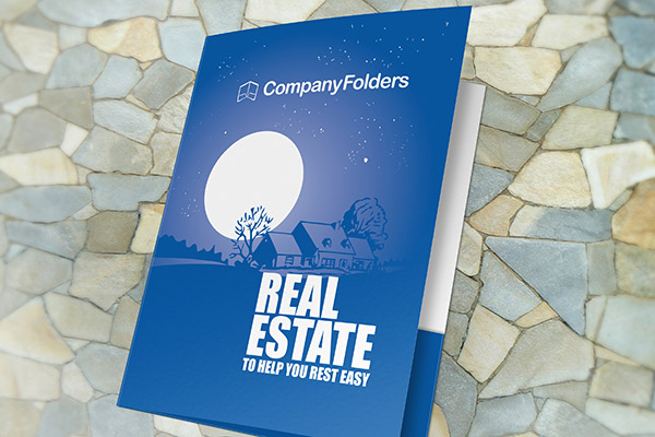 peaceful-night-real-estate-cd-folder-template
