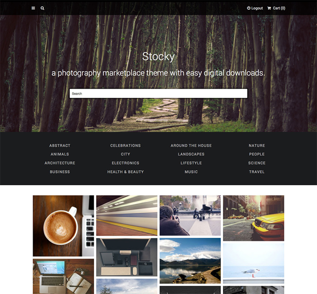 stocky-a-stock-photography-marketplace-theme