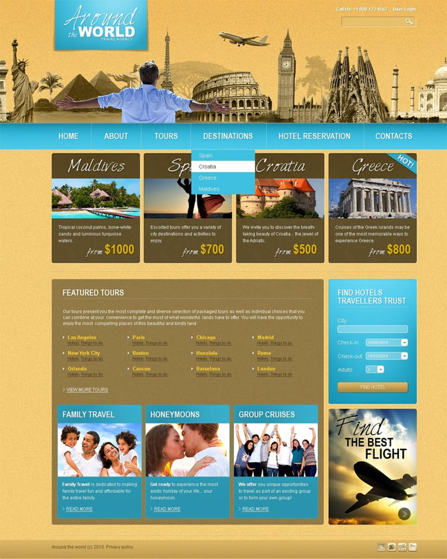 Around-The-World-Travel-Agency-Joomla-Template