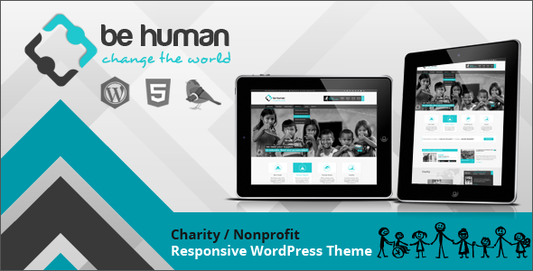 Be Human - Charity Multipurpose WP Retina Theme