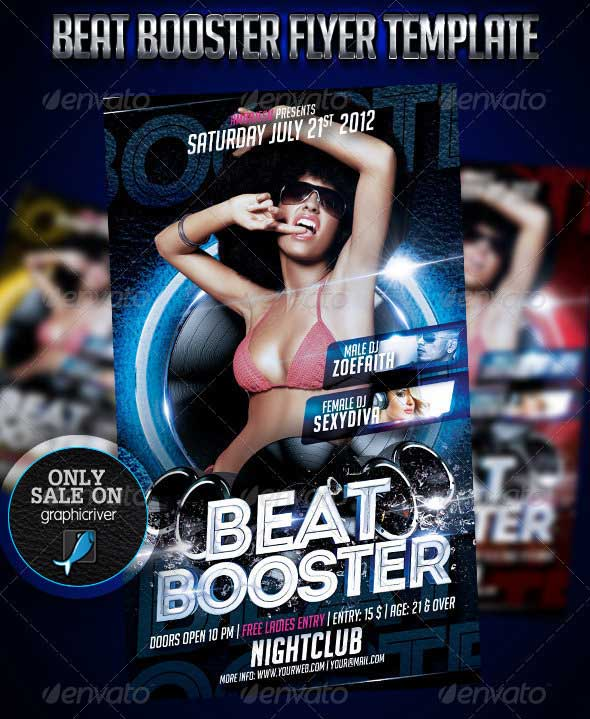 Beat-Booster-Flyer-Template