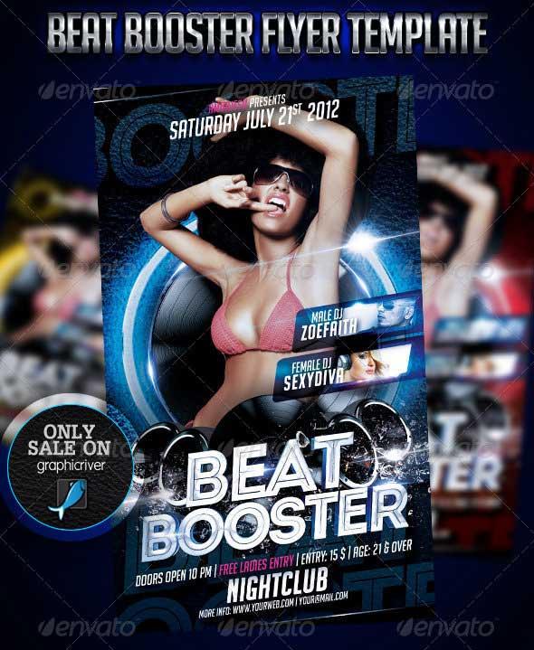 Beat-Booster-Flyer-Template