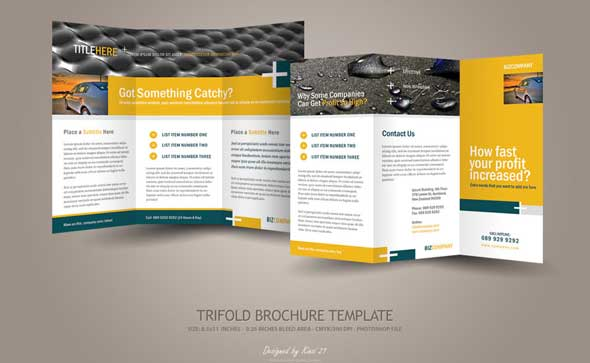 brochure templates psd - 20 creative psd brochure templates for free 2017 designmaz