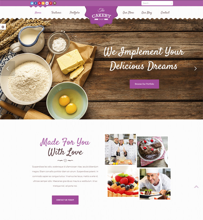 Cakery-Cake-WordPress-Theme