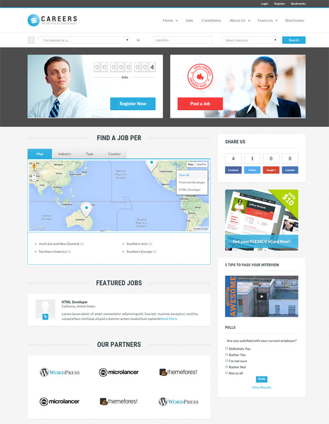 Careers-Job-Portal--and-Candidates-WP-Theme