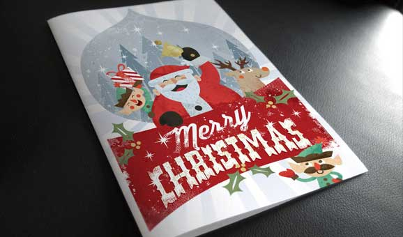 free psd christmas card templates