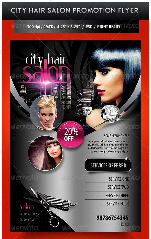 City-Hair-Salon-Promotional-Flyer