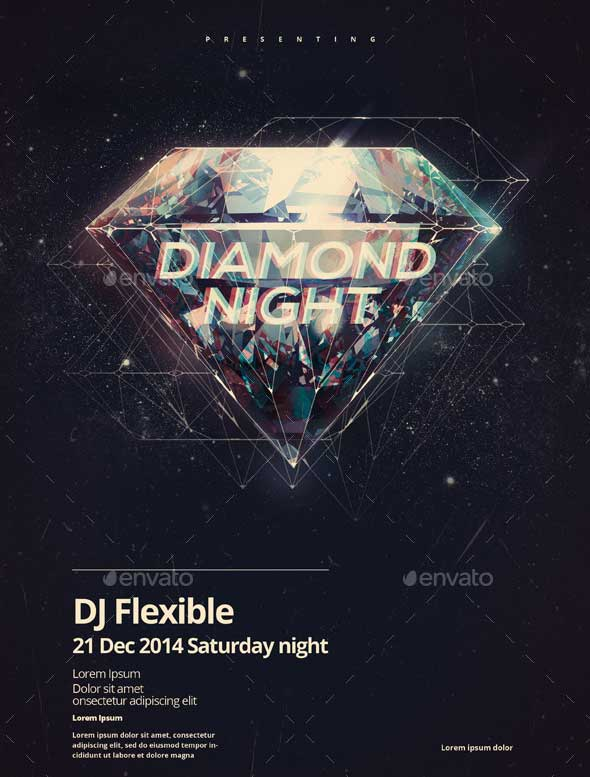 Diamond-Night-3-Party-Poster