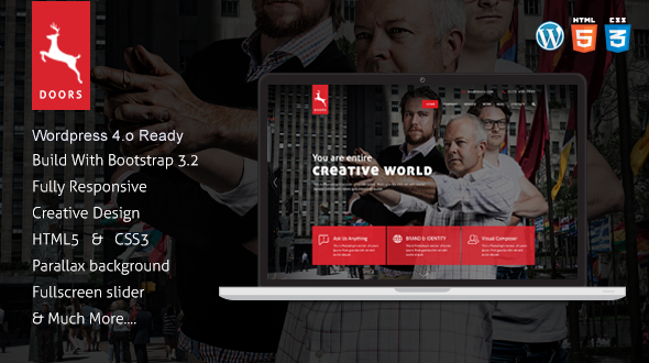 Doors Onepage MultiPurpose wordpress theme