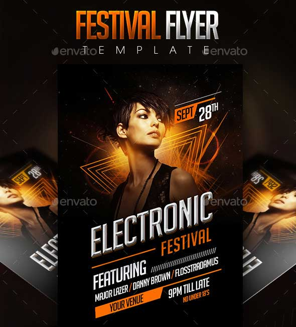 Electronic-Festival-Flyer