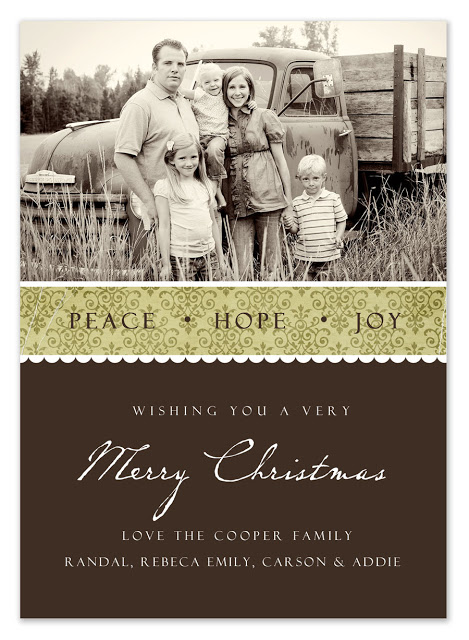 free christmas card templates 2