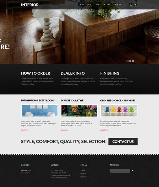 Free Drupal Template