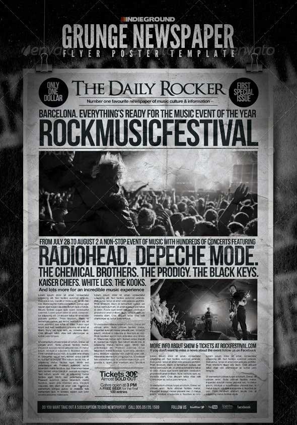 Grunge-Newspaper-Flyer-Poster