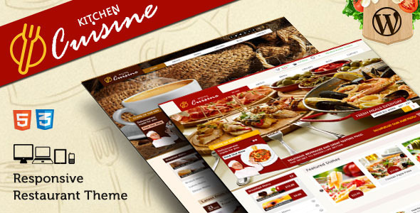 Kitchen Cuisine - Restaurants & Café WP Theme