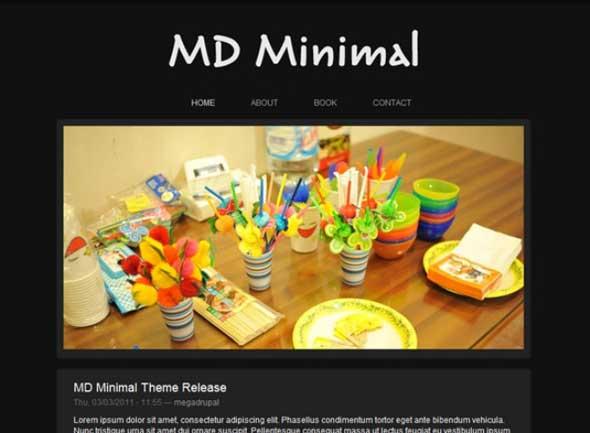 MD-Minimal-Drupal-Template