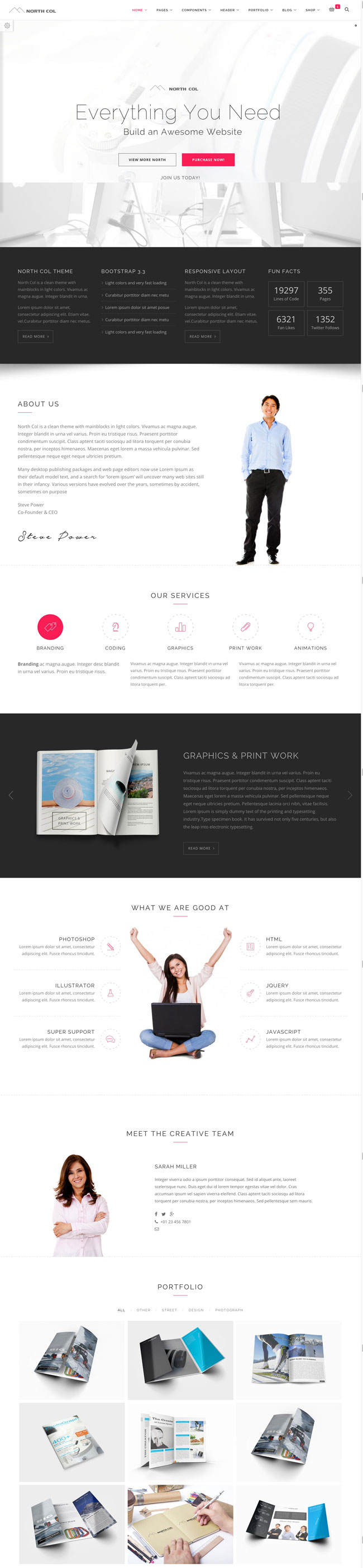 North-Col-MultiPurpose-Bootstrap-Wordpress-Theme