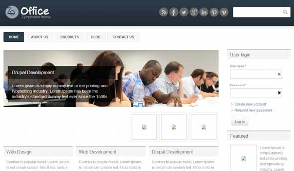 Office-Responsive-Drupal-Template