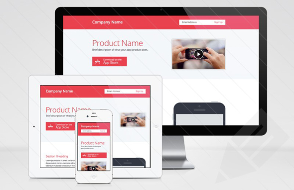 Responsive-Product-Page-Template
