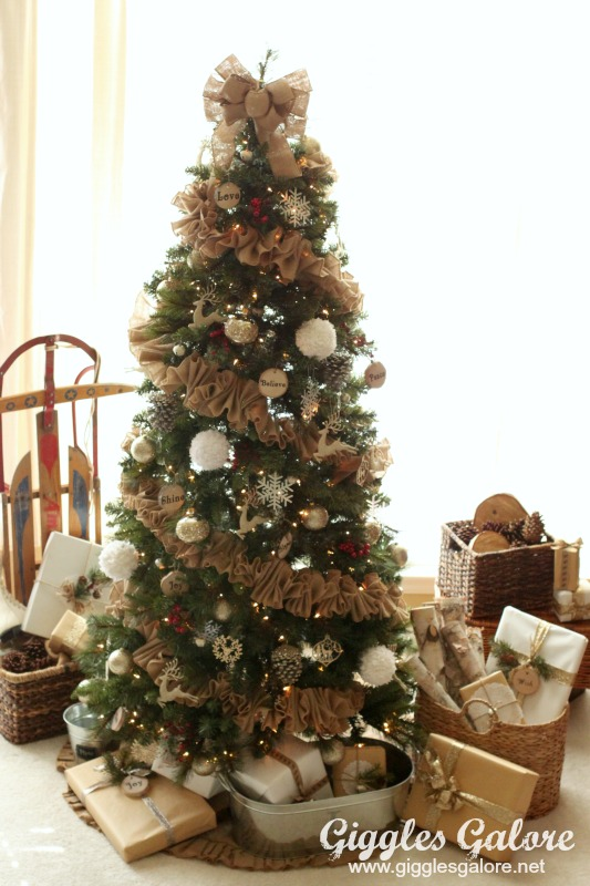 Black And White Polka Dot Christmas Ornaments