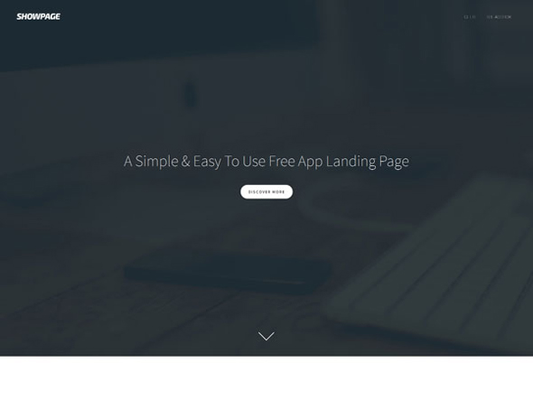 ShowPage-Landing-Page-Website-Template