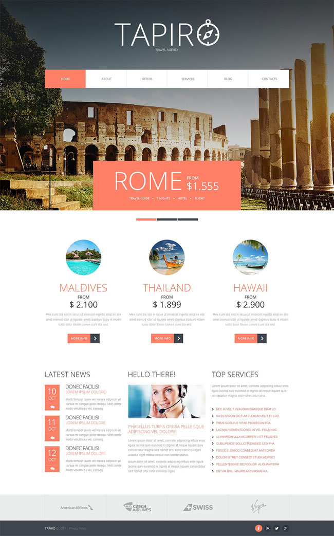 Tapir-Travel-Website-Joomla-Template