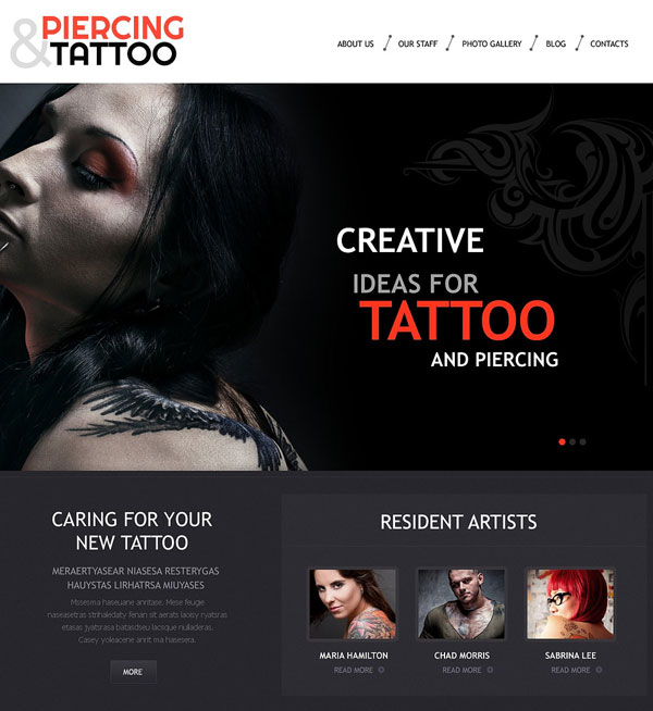 Tattoo-Art-Salon-WordPress-Theme