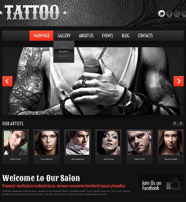 Tattoo-Salon-WordPress-Theme