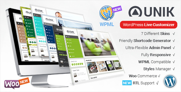 Unik - Ultra-Customizable WordPress Theme