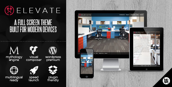 elevate-a-full-screen-theme-for-wordpress