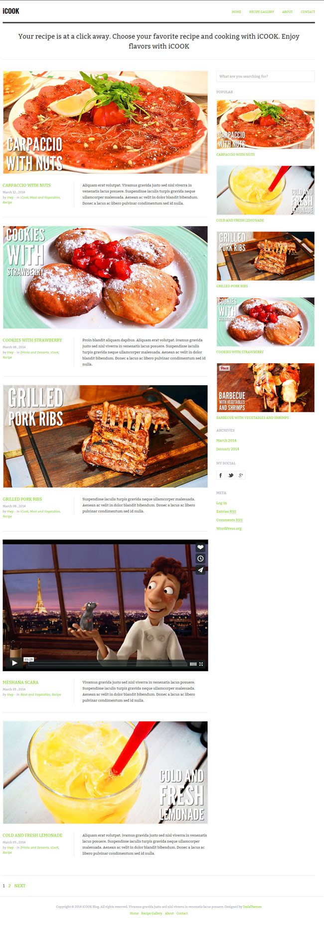 iCook-Food-Blog-WordPress-Theme