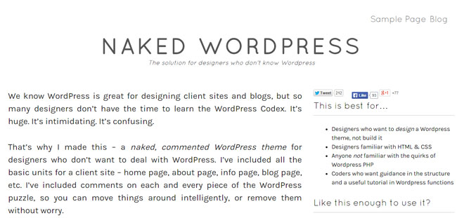 naked-wordpress