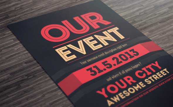 35 Best PSD Event Flyer Templates DesignMaz – Event Flyer