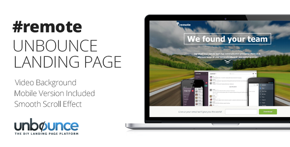 remote-unbounce-landing-page-template