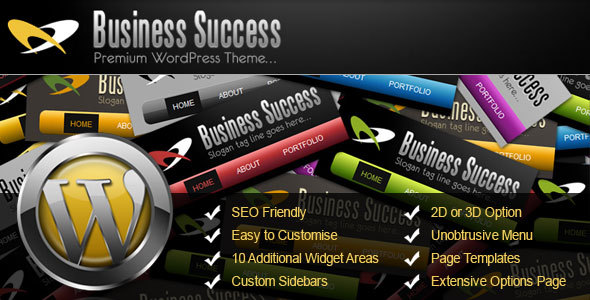 7 in 1 Business Success WordPress Theme
