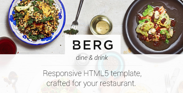 Berg - Restaurant Dedicated HTML5 Template
