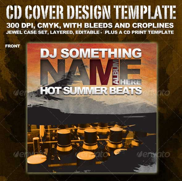 CD-cover-template