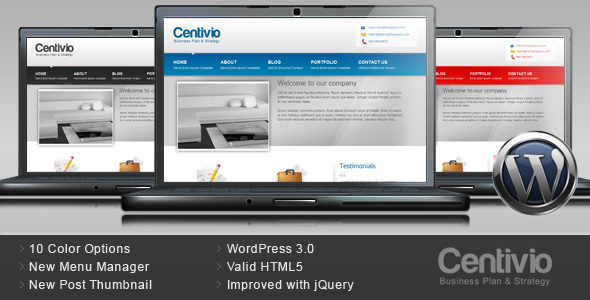 Centivio - Business WordPress Theme