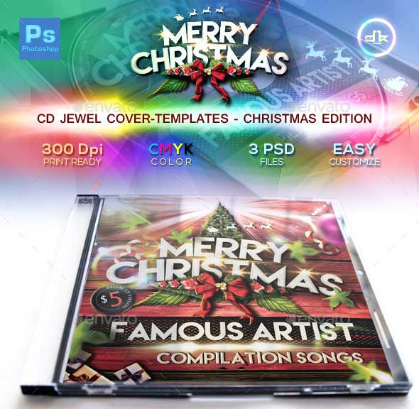 Christmas-CD-Cover-Template