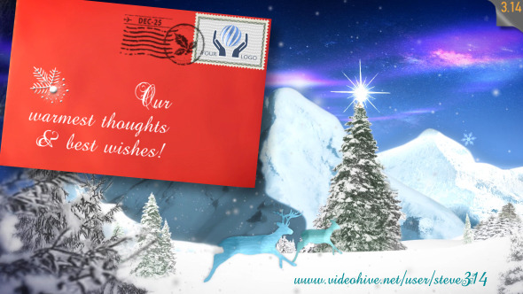 Christmas Greetings e-Postcard