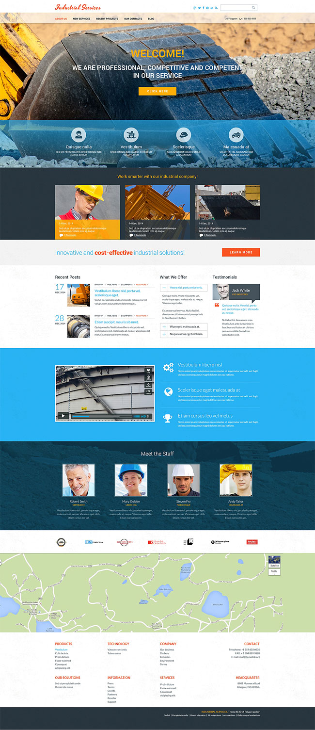 Civil-Engineering-Drupal-Template