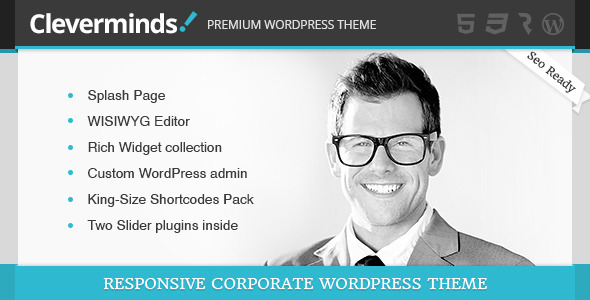 Cleverminds - Premium Business WordPress Theme