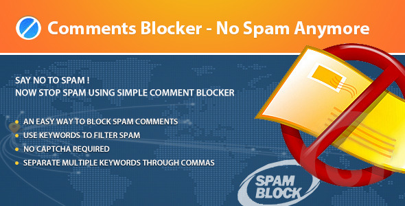 Comments Blocker - No Spam Any More